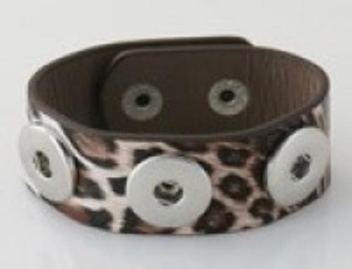 Leapord Leather Bracelet