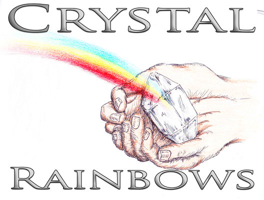 Crystal Rainbows Retina Logo